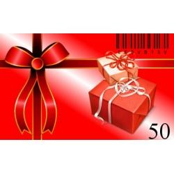 Bon Podarunkowy-50