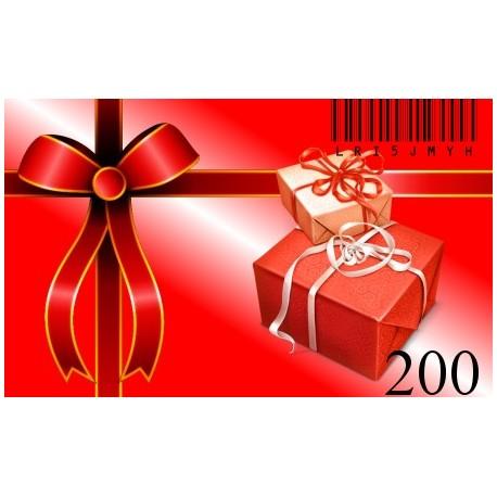 Bon Podarunkowy-200