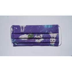 Maseczka ZIMALAMA bawełniana z wkładem flizelinowym