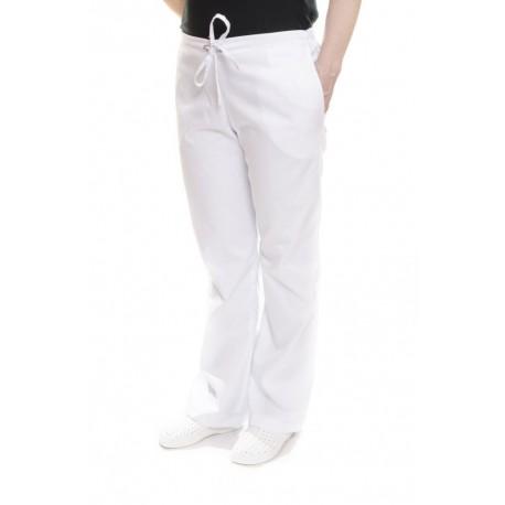 Spodnie uniwersalne białe
