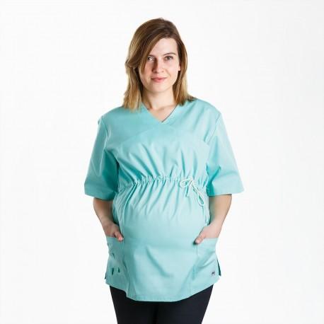 Bluza ciążowa miętowa