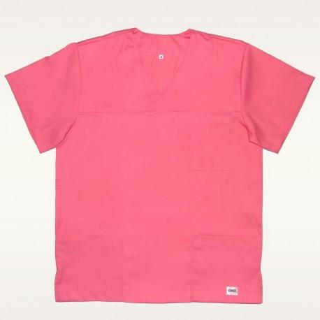 Bluza medyczna różowa