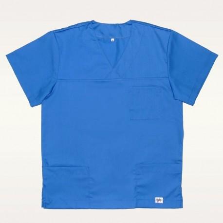 Bluza medyczna niebieska