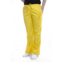 Spodnie uniwersalne żółte
